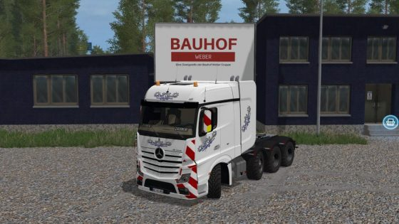 Mercedes Actros Pack
