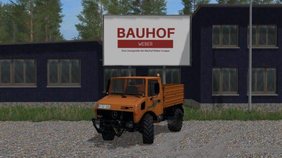 MB Unimog 1600
