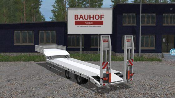 Bauhof Weber Tieflader