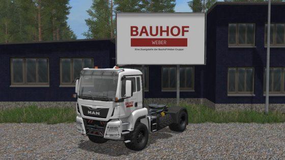 Bauhof Weber MAN TGS (V2.0)