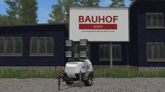 Bauhof Weber Lichtanhänger