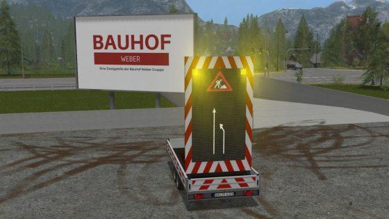 Bauhof Weber Vorwarnanhänger V3