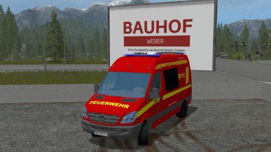 Feuerwehr Einsatzleitwagen MH