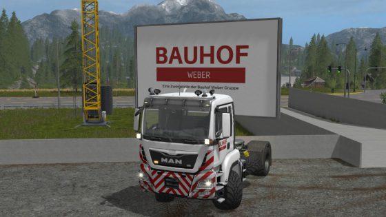 Bauhof Weber MAN TGS 4x4