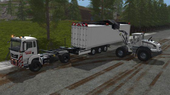 Container Pack mit Aufladefunktion