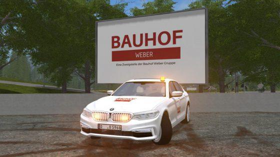 Bauhof Weber - Chef BMW 540i