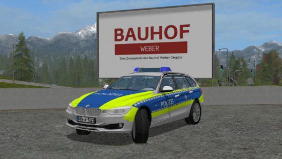 FuStW Polizei NRW - BMW 318d