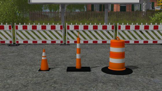 Traffic Cones Pack
