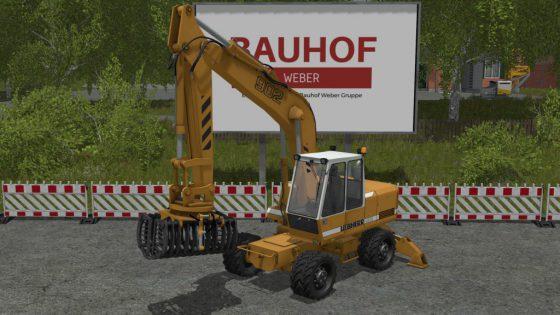 Excavator Liebherr 902 Pack