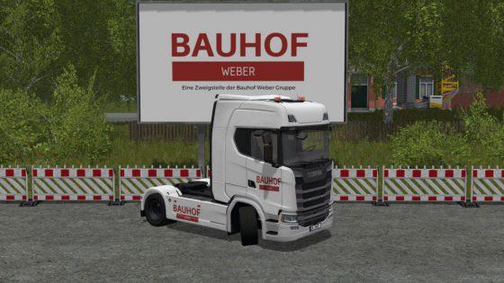 Scania S590 V8 - Bauhof Weber Edition
