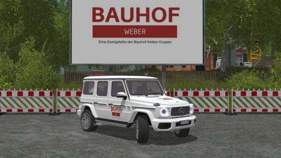 *NEU* Bauhof Weber G-Klasse 2019