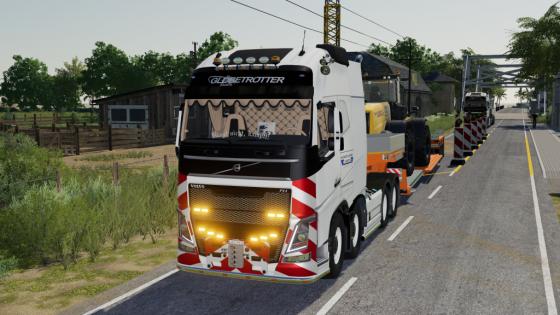 LS19 - Volvo FH Schwertransport