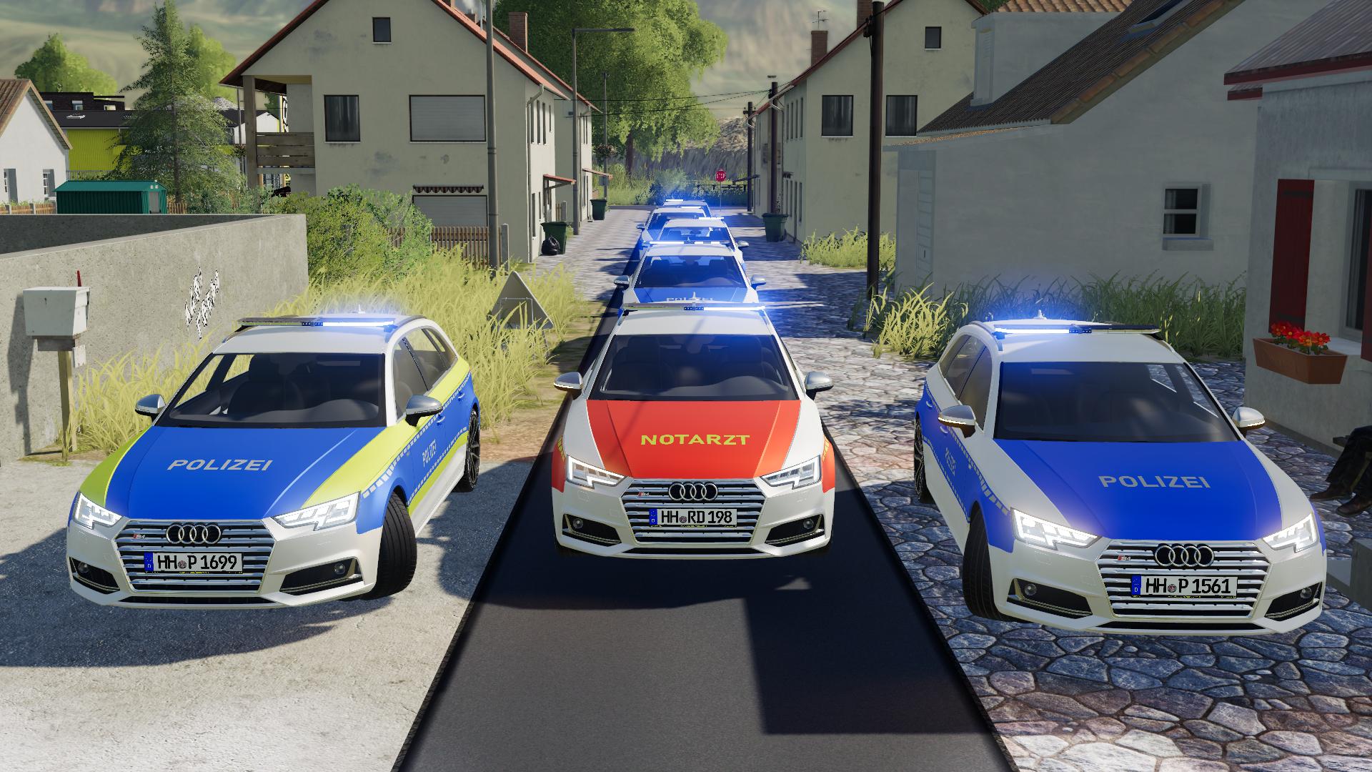*NEU* - LS19 Volvo V60 Polizei/KDOW/NEF